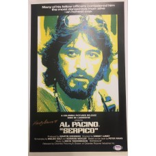 "Item # 0005 - Al Pacino & Martin Bregman Signed 1972 Contract Amendment for the Movie ""Serpico"" - PSA/DNA"
