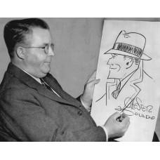 Item # 0052 - Chester Gould - Signed 1952 Handwritten Letter - PSA/DNA