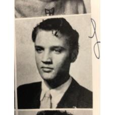 Item # 0064 - Elvis Presley - Signed 1953 Yearbook - PSA/DNA