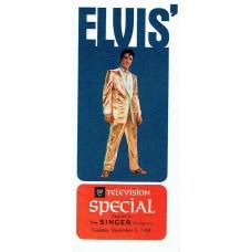Item # 0065 - Elvis Presley - Signed 1968 Comeback Special Agreement - PSA/DNA