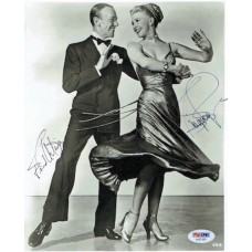 Item # 0073 - Fred Astaire & Ginger Rogers - Signed Photograph - PSA/DNA - SOLD