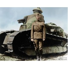 Item # 0077 - George S Patton - Signed 1918 Document - PSA/DNA