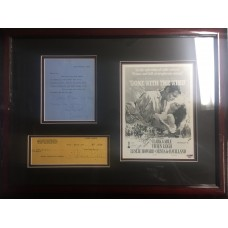Item # 0079 - Gone With The Wind - Cast Signed Documents - PSA/DNA