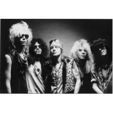 Item # 0081 - Guns N' Roses - Duff McKagan, Axl Rose, and Slash - Signed 1989 Letter - PSA - SOLD!
