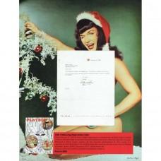Item # 0089 - Hugh Hefner - Signed 1955 Letter to Bunny Yeager - PSA/DNA
