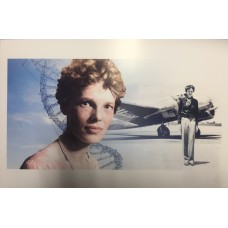 Item # 0011 - Amelia Earhart Signed 1930 Transcontinental Air Letter - PSA/DNA - SOLD!
