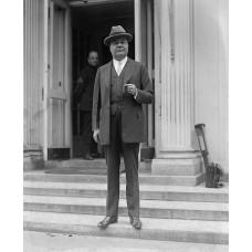 Item # 0118 - John Ringling - Signed 1929 Show Pass - PSA