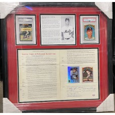 Item #0238 - Historic Nolan Ryan Signed 1972 California Angels Contract! - PSA/DNA