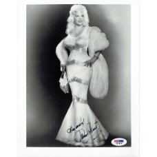 Item # 0131 - Mae West - Signed 8x10 Photograph - PSA