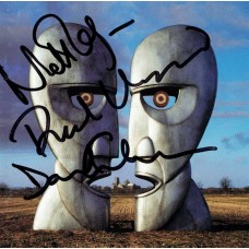 Item # 0149 - Nick Mason, David Gilmour and Richard Wright (Pink Floyd) Signed Album Cover (PSA) SOLD!
