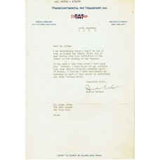 Amelia Earhart - Signed 1930 Letter (PSA)
