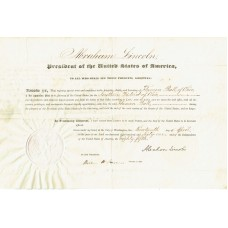 Abraham Lincoln - Signed 1861 Document (PSA)