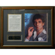 Item # 0006 - Al Pacino - Signed 1969 AFTRA Membership Document - PSA