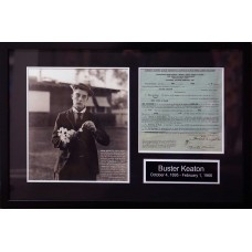 Item # 0043 - Buster Keaton - Signed 1945 Universal Pictures Contract - PSA/DNA