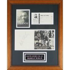 Item # 0136 - Martin Luther King Jr. - Signed 1966 Program - PSA
