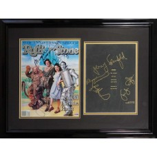 Cast of Seinfeld - Signed 1998 Rolling Stone Magazine with Special Edition Facsimile Signed Script (PSA)