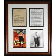 Item # 0175 - Roscoe C. Arbuckle - Signed 1923 Letter - PSA