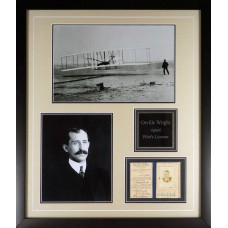 Item # 0155 - Orville Wright - Signed 1930 Pilot's License - PSA