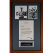 Item # 0033 - Bobby Jones - Signed 1969 Letter - PSA/DNA