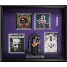Item # 0106 - Jerry Garcia - Signed Art Card - PSA/DNA