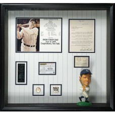 Item # 0021 - Babe Ruth Signed 1939 Letter of Display - PSA/DNA