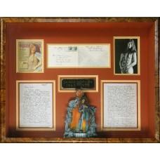 Item # 0103 - Janis Joplin - Signed Handwritten Letter To Fiance Plus Signed Envelope - PSA/DNA