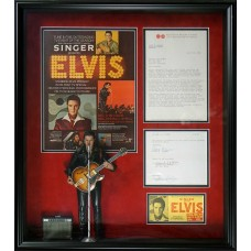 Elvis Presley - Signed 1968 Contract (PSA)