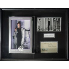 Item # 0019 - Audrey Hepburn - Signed Letter with Breakfast at Tiffany's Doll - PSA - SOLD