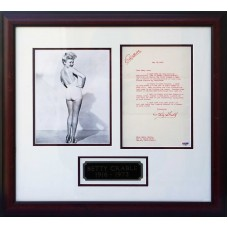Item # 0028 - Betty Grable - Signed 1953 Letter - PSA/DNA