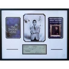 Item # 0172 - Rod Serling - Singed 1967 Check (PSA) SOLD!