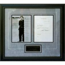 Charlie Chaplin - Signed 1937 Letter (PSA)