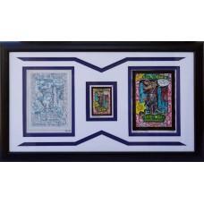 Item # 0117 - John Pound - Signed 1991 Original Pencil Art - Authenticated