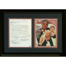 Item # 0173 - Rodney Dangerfield - Signed 1966 Contract - PSA