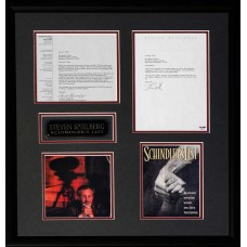 Item # 0191 - Steven Spielberg - Schindler's List - Signed 1995 Letter - PSA