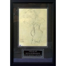 Olivia De Berardinis - Signed Original Pencil Art (PSA)