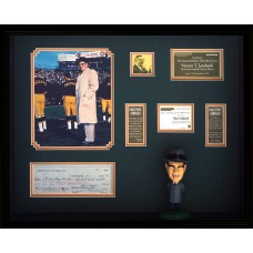Item # 0216 - Vince Lombardi - Signed Green Bay Packers Check - PSA