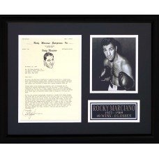 Item # 0170 - Rocky Marciano - Signed 1966 Letter - PSA