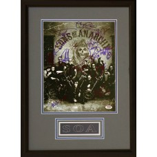 Item # 0185 - Sons of Anarchy Cast - Photo Signed by 14 - PSA - SOLD