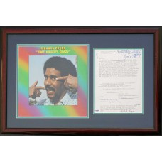 Item # 0166 - Richard Pryor - Signed 1975 Contract - PSA